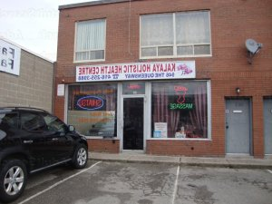 Cilia massage parlor in Ferndale